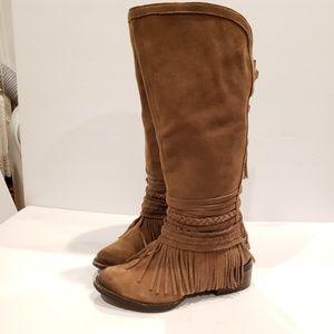 Naughty Monkey womens tall boots size 7